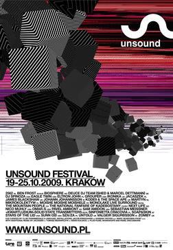 unsound festival @ krakow, poland, 19-25.10.2009